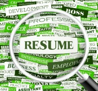 start your resume writing business focus on results